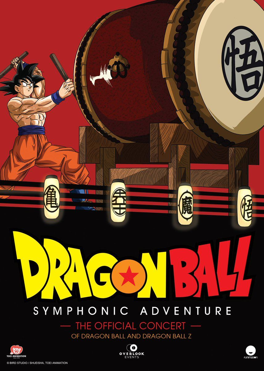 It's almost time! 🎻  Toei Animation and Funimation are bringing the Dragon Ball Symphonic Adventure to North America, starting March 27 in Chicago, IL. You can't miss out!   🎟👉   #Burrra #dragonball #dragonballz #dragonballsuper #anime #goku #dbz #vegeta #manga #naruto #dbs #dragonballgt #onepiece #gohan #db #ssj #broly #supersaiyan #trunks #gogeta #otaku #bulma #art #dragonballheroes #songoku #dokkanbattle #dragonballzfans #dragonballsuperbroly #goten #dbgt