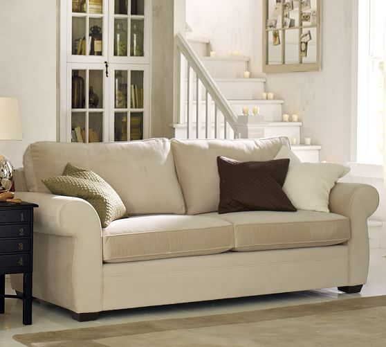 pearce upholstered sofa performance pottery barn