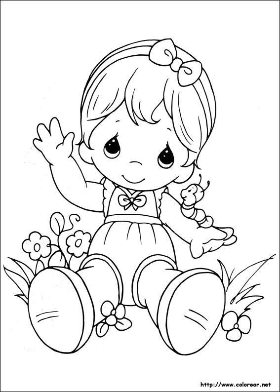Dibujos para colorear de Preciosos Momentos   CHILDREN\'S PICTURES ...