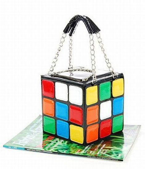 For The Rubik S Cube Lover Out There Comes A Very Unusual Purse
