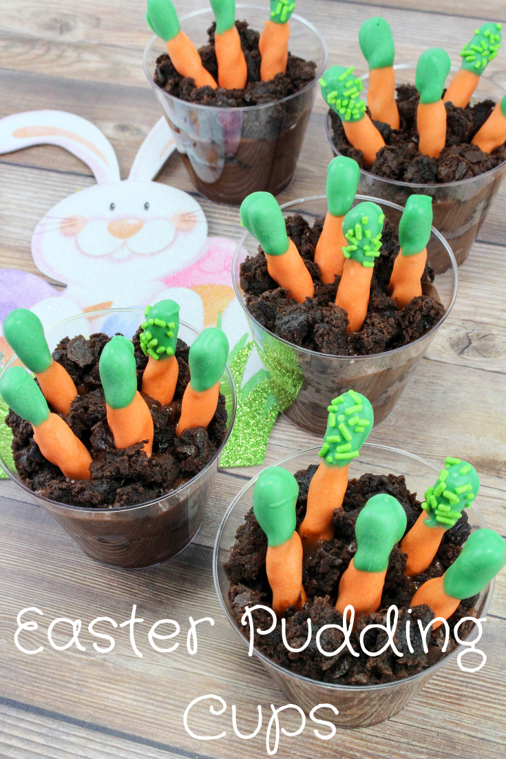 Easter Snack Ideas For Kids Easy Carrot Patch Pudding Cups