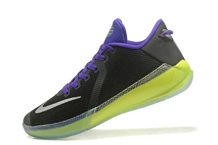 bb36e33624ff1 Chaussures de sport New Arrival Nike Zoom Kobe Venomenon 6 VI Joker Black  Volt Purple Metallic Silver