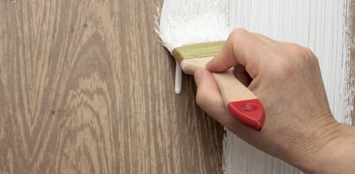 We Want To Paint Over The Wallpaper In Our Bathroom What Kind Of Primer Should Use Dwayne Hi As Long Has A Smooth Surface
