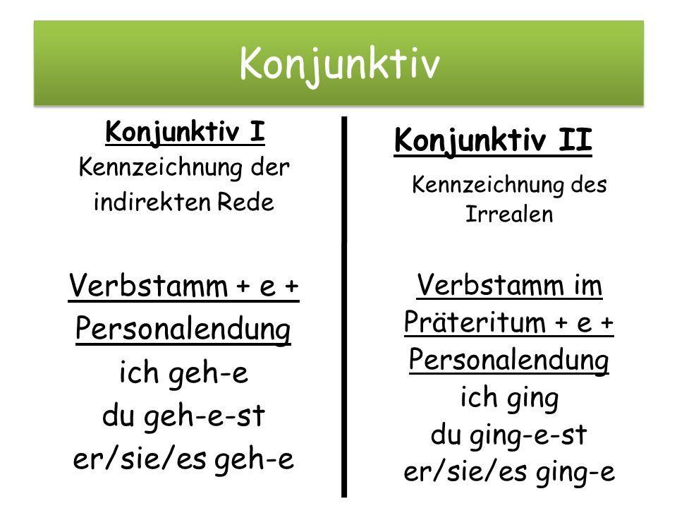 Image result for konjunktiv 1 und 2 | Deutsch lernen | Pinterest ...