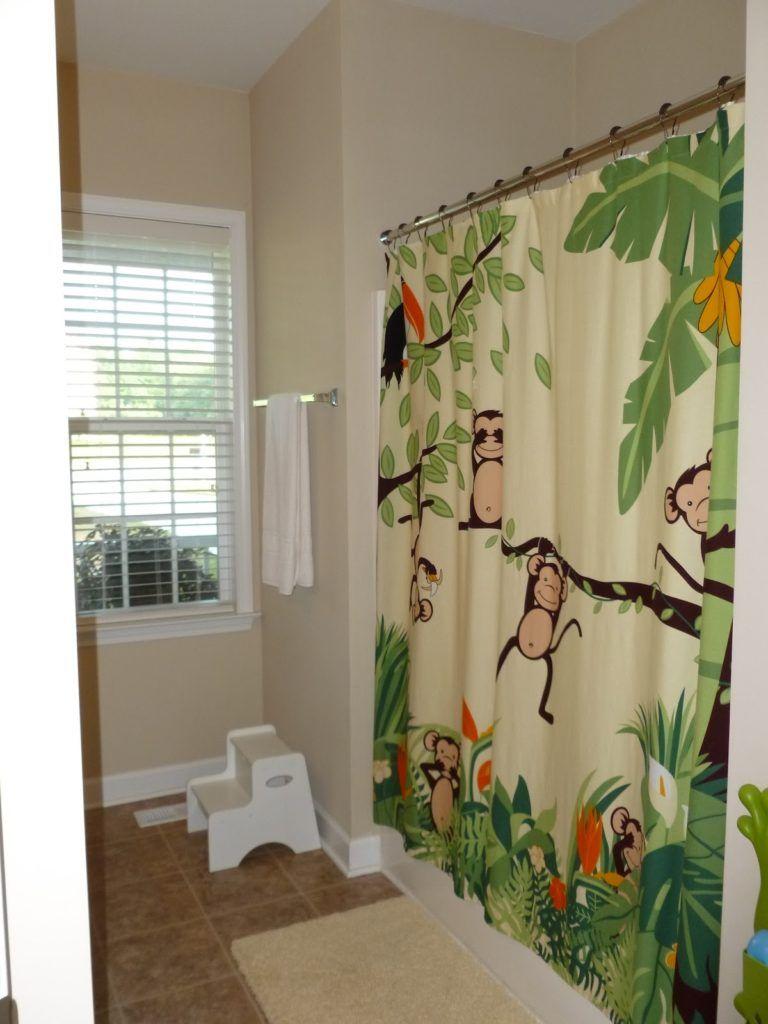 Monkey Shower Curtain Bed Bath Beyond | Shower Curtain | Pinterest ...