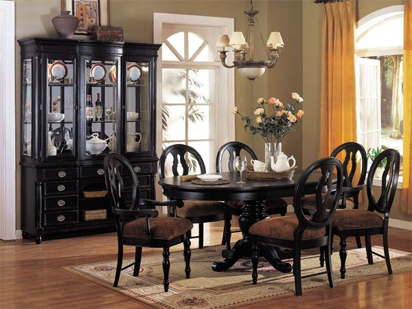 2017 black dining room furniture ideal for stylish dining rooms