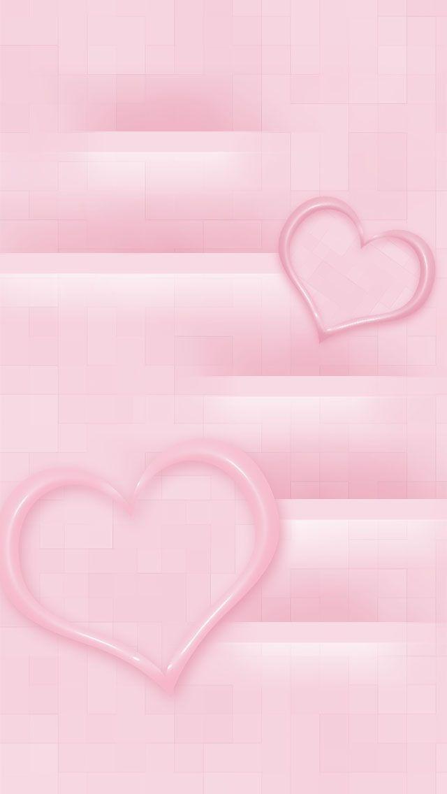 Pink Hearts Hintergrundbilder Bilder L P