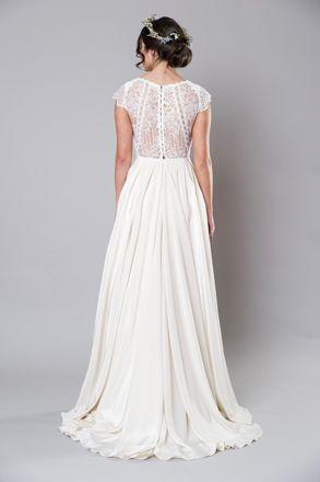 Diana Wedding Dress By Sally Eagle Bridal Diana Weddingdress Sallyeaglebridal Weddinggown Wedding Diana Wedding Dress Wedding Dresses Floaty Wedding Dress