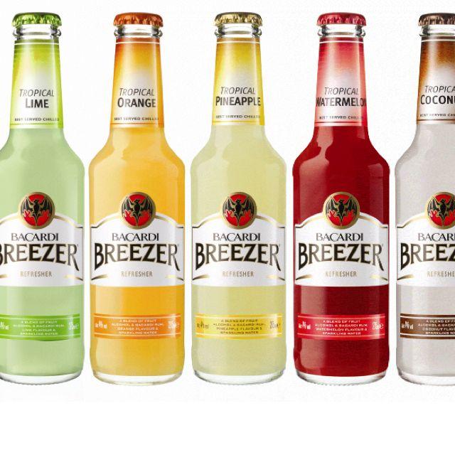 Bacardi Breezers Blame It On The Alcohol Pinterest