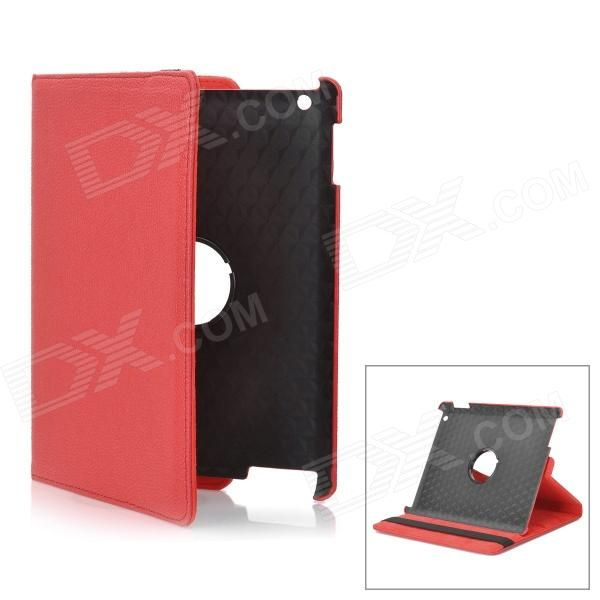 Material: PU leather - Protects your device from scratches dust and shock - Can rotate 360 degrees provides comfortable viewing angle for reading watching video etc. - Compatible with Ipad 2 & The New Ipad http://j.mp/1naQ7IQ