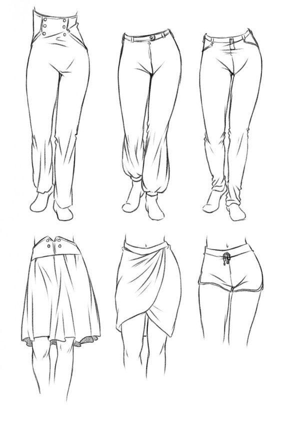 Die zweite wichtige Eigenschaft, die Deine Mangakleidung glaubhaft wirken lässt... - Emma Fisher Zeichnungen zu malen #clothesdrawing