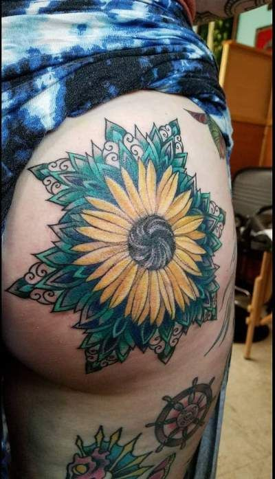 50+ Summer Sunflower Tattoos Design And Ideas