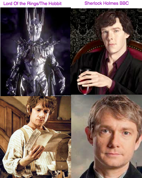 Did You Know That Benedict Cumberbatch Played Sauron In Lord Of The