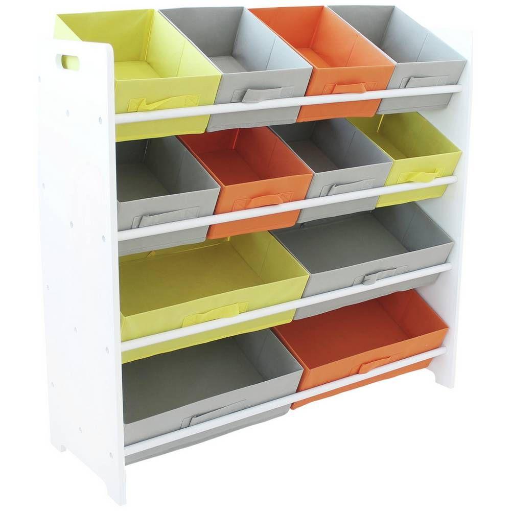 Buy Argos Home 4 Tier White Kids Basket Storage Unit Toy Boxes Storage Baskets Childrens Storage Units Toy Storage Boxes