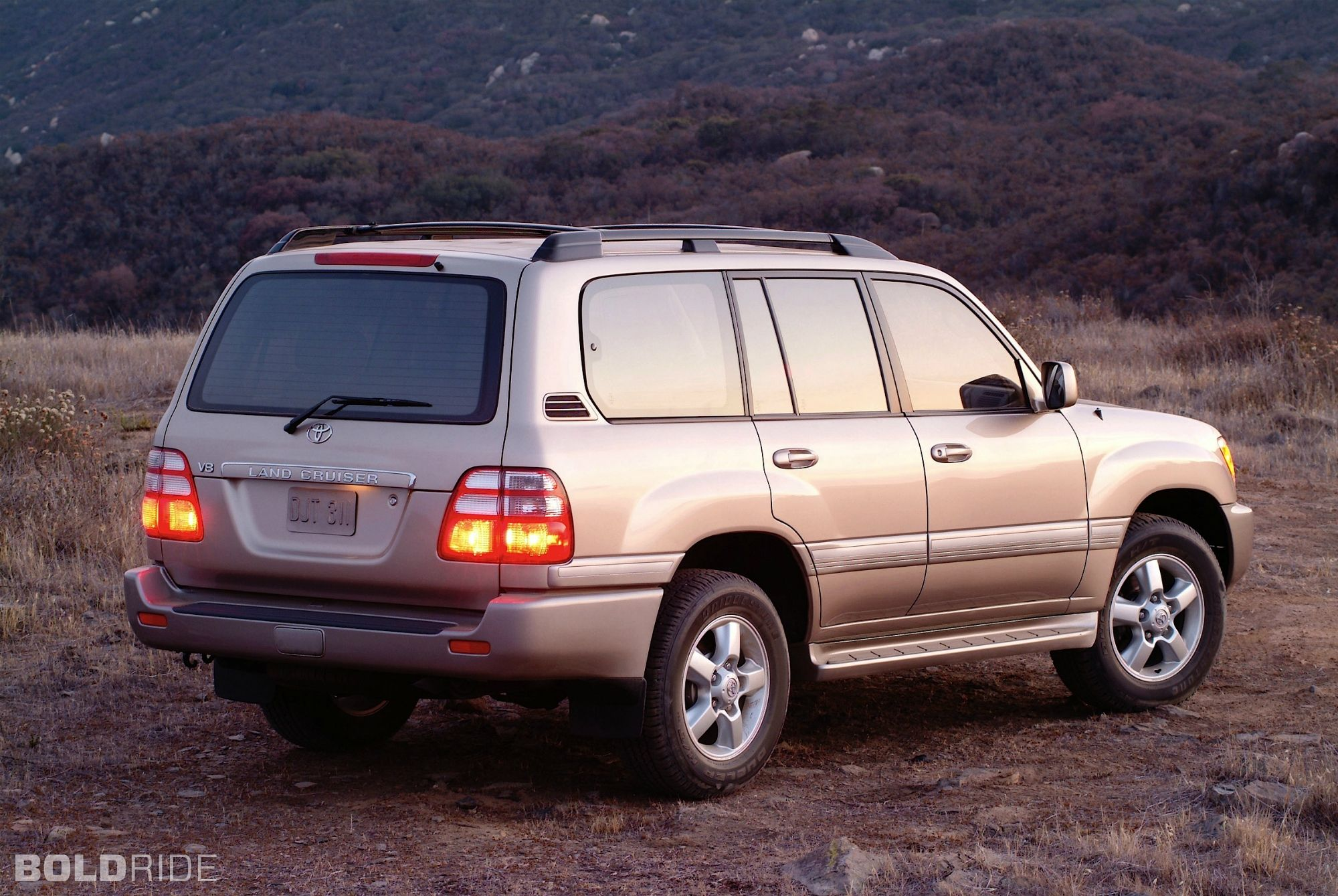 Older Toyota Land Cruiser
