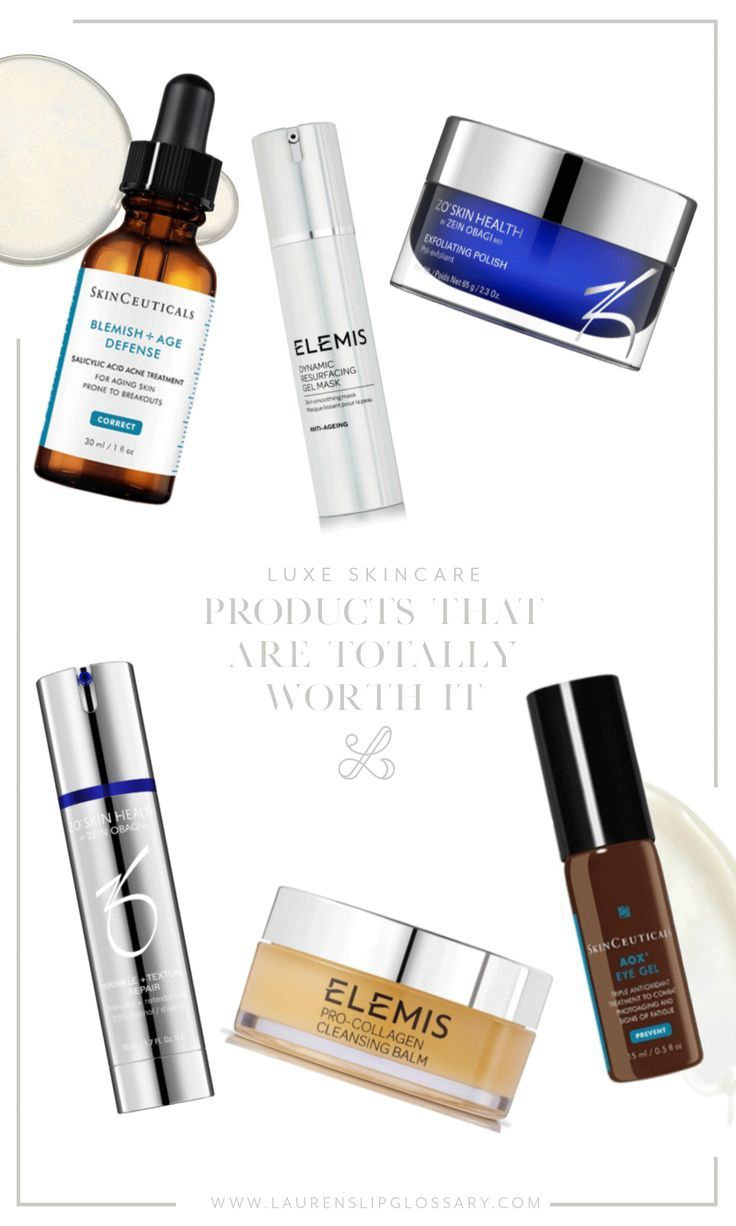 Luxe Skincare Products That Are Totally Worth It Skin