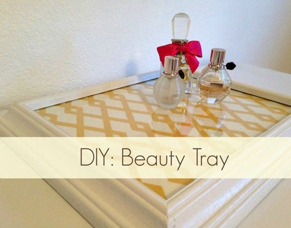 50 Clever Upcycling Ideas Frame Tray Craft And Crafty