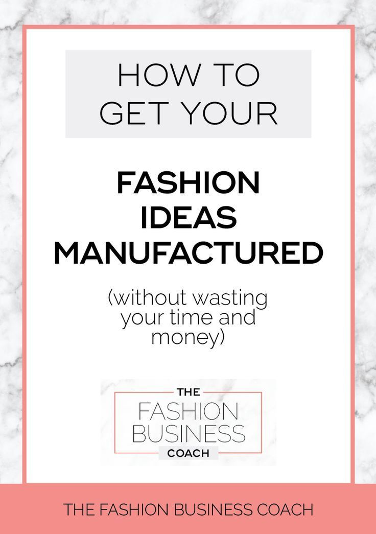 Pin On Fashion Business Tips How To Start A Successful Fashion Brand