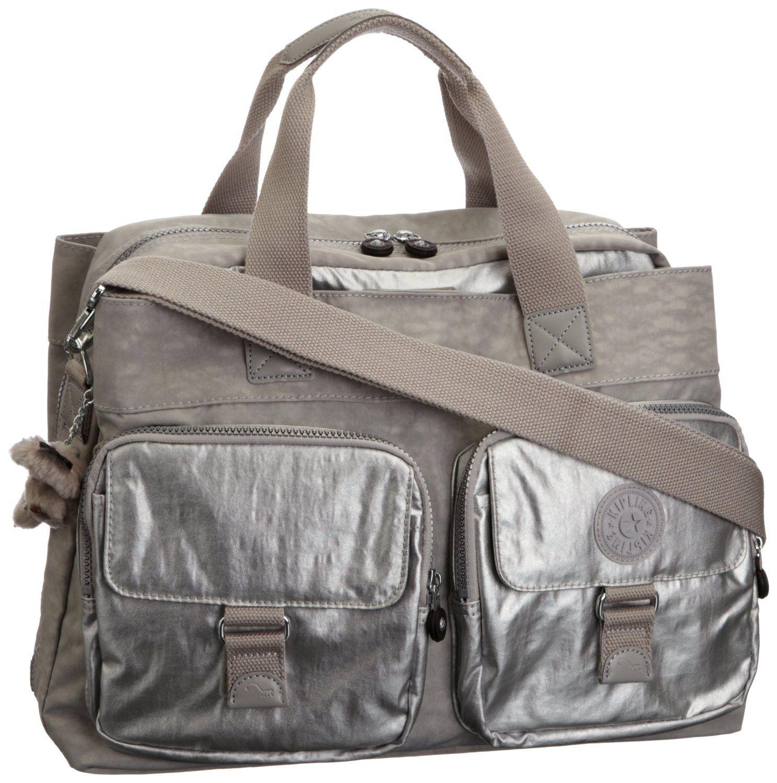 dernière remise à vendre techniques modernes Kipling New Becky, Cabas - Argent gris c: Amazon.fr ...
