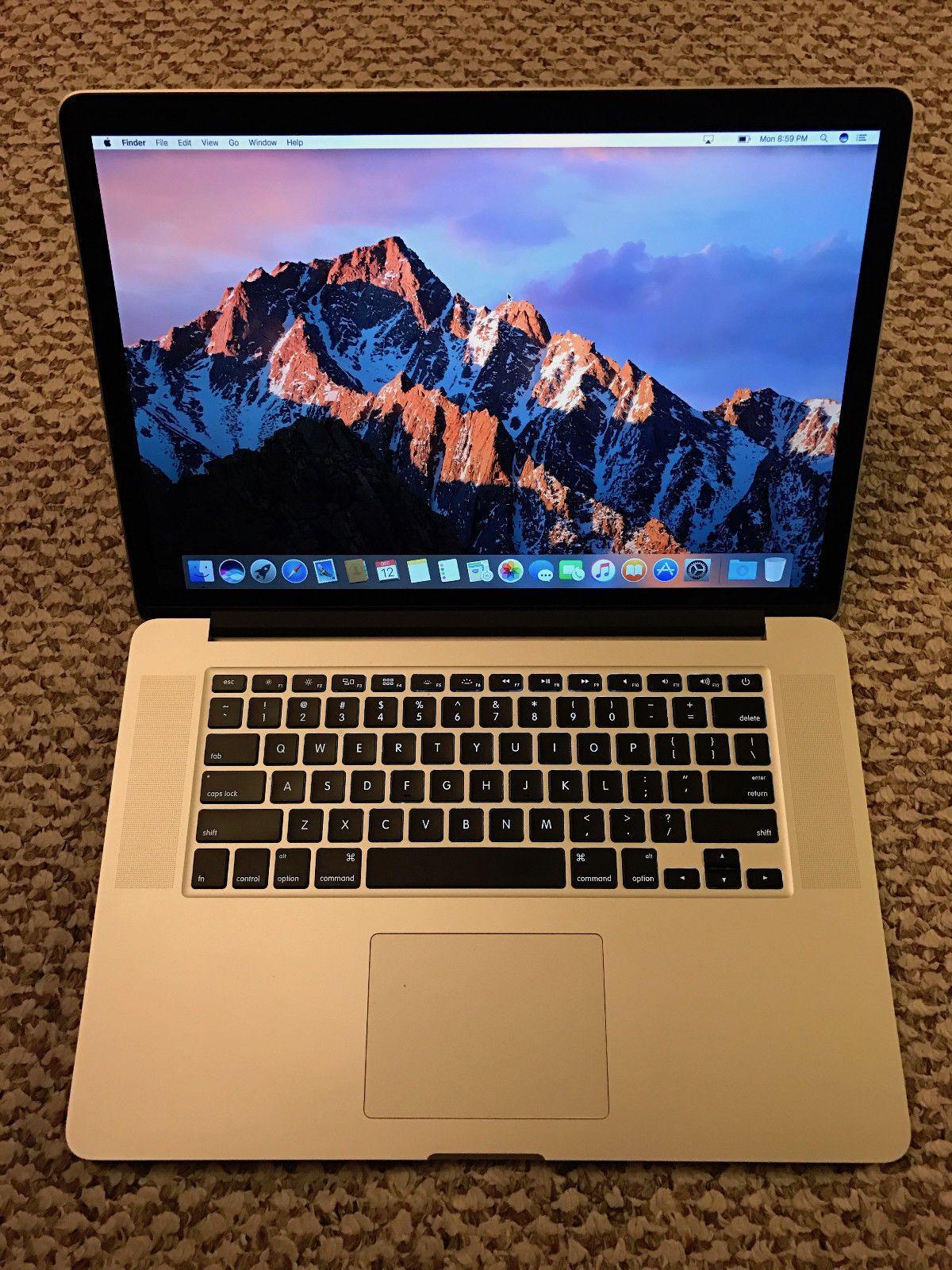 Apple RETINA Macbook Pro 15in late 2013 Applecare 2017