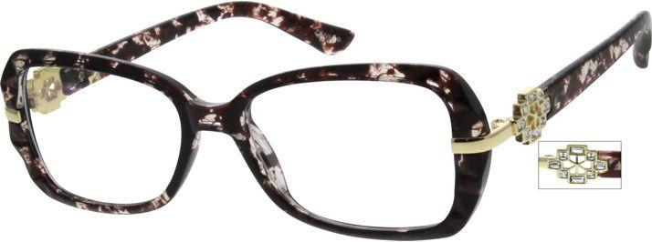 cb34001f0c8 2057 Flexible Plastic Full-Rim Frame
