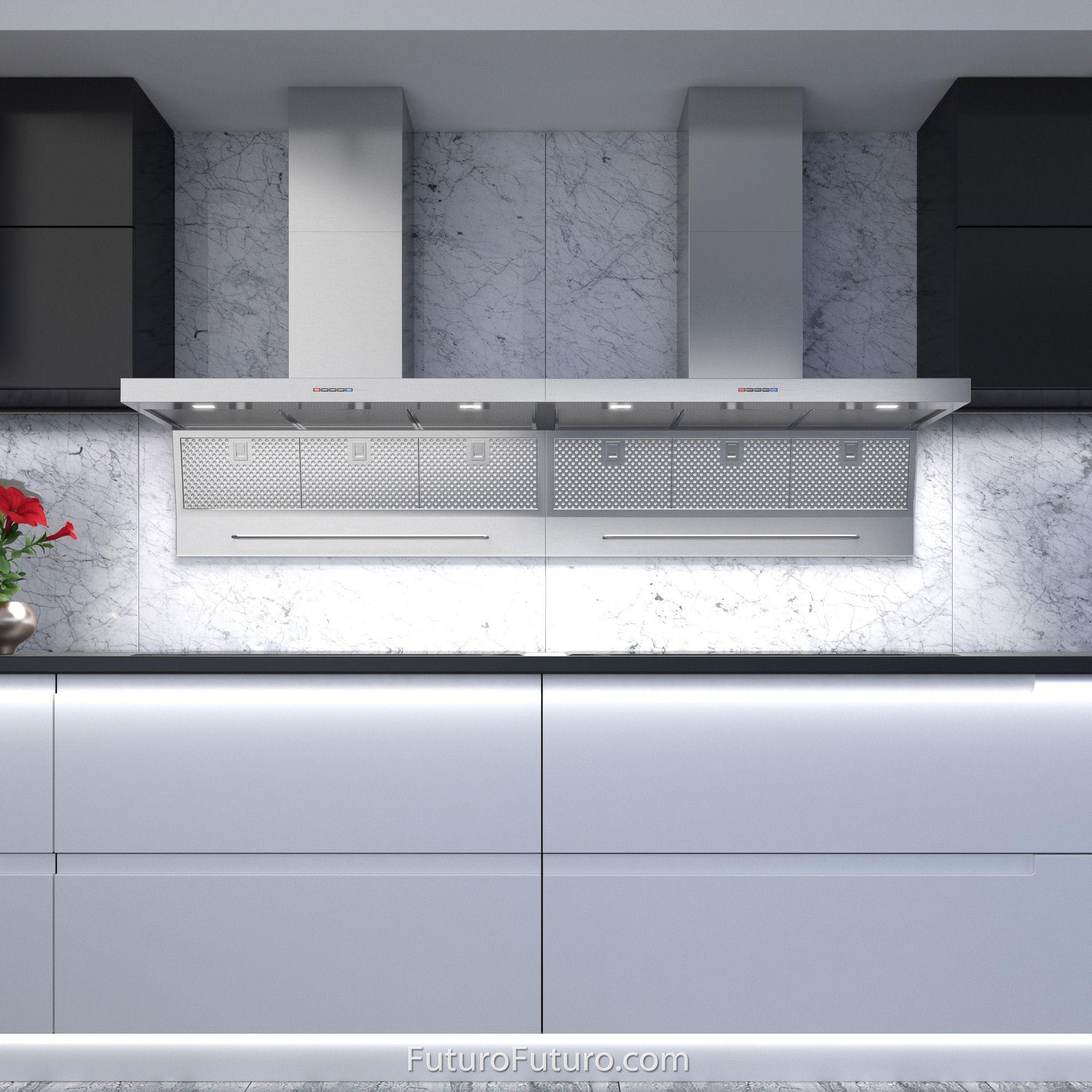 36 Magnus Wall Mount Range Hood By Futuro Futuro In 2020 Wall Mount Range Hood Kitchen Ventilation Kitchen Fan