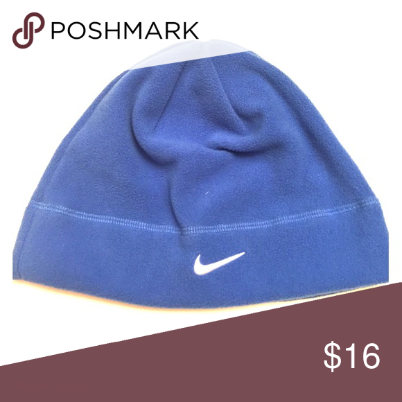 267b2de6d6a New with tags NIKE ARCTIC FLEECE BEANIE unisex 1sz New with tags NIKE  ARCTIC FLEECE BEANIE beautiful blue. Logo in white on front of hat. unisex.