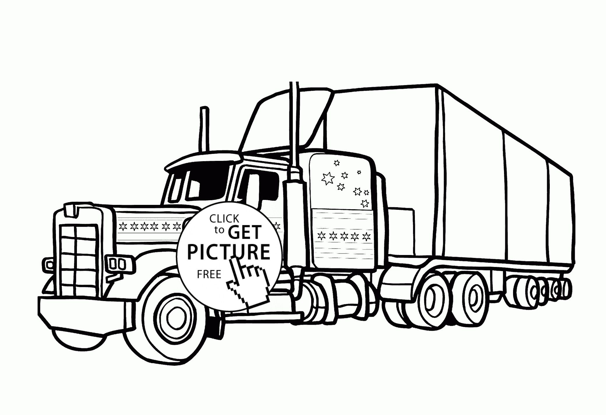 Horse Trailer Coloring Pages From the thousand photos
