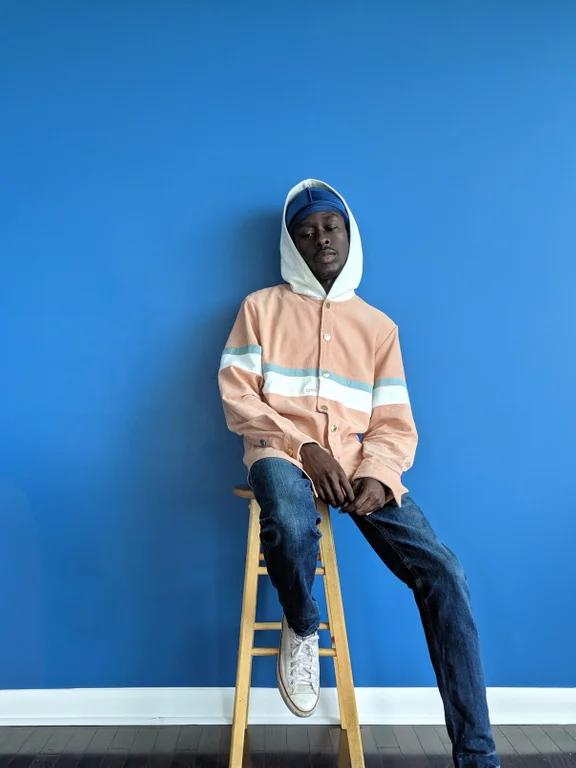 Cord hoodie, couple sizes left. streetwearstartup