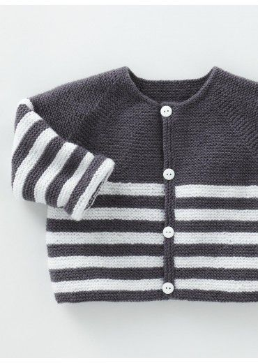 in dit n 5 gilet en caline tricoth que berg re de france enfant tricot tricot b b et. Black Bedroom Furniture Sets. Home Design Ideas