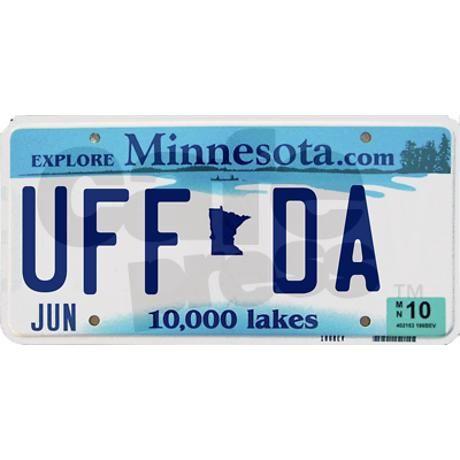 Uffda Bumper Bumper Sticker On Cafepress Com Minnesota Life