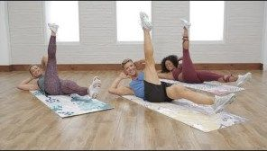 30-Minute Cardio Pilates For a Flat Belly #cardiopilates