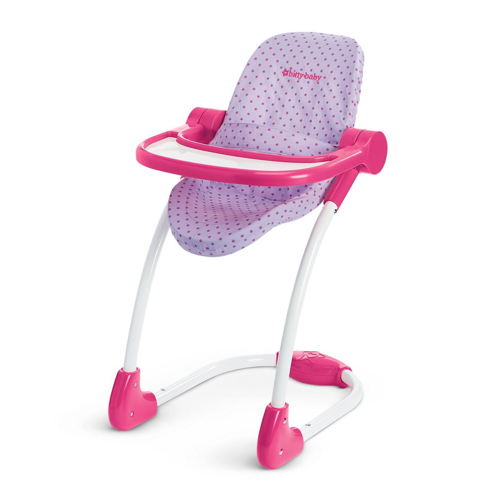 American Girl Bitty S High Chair Ella Christmas Bitty