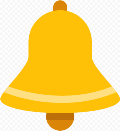 Gold Bell Icon Youtube Notification Icon Transparent Background Gold
