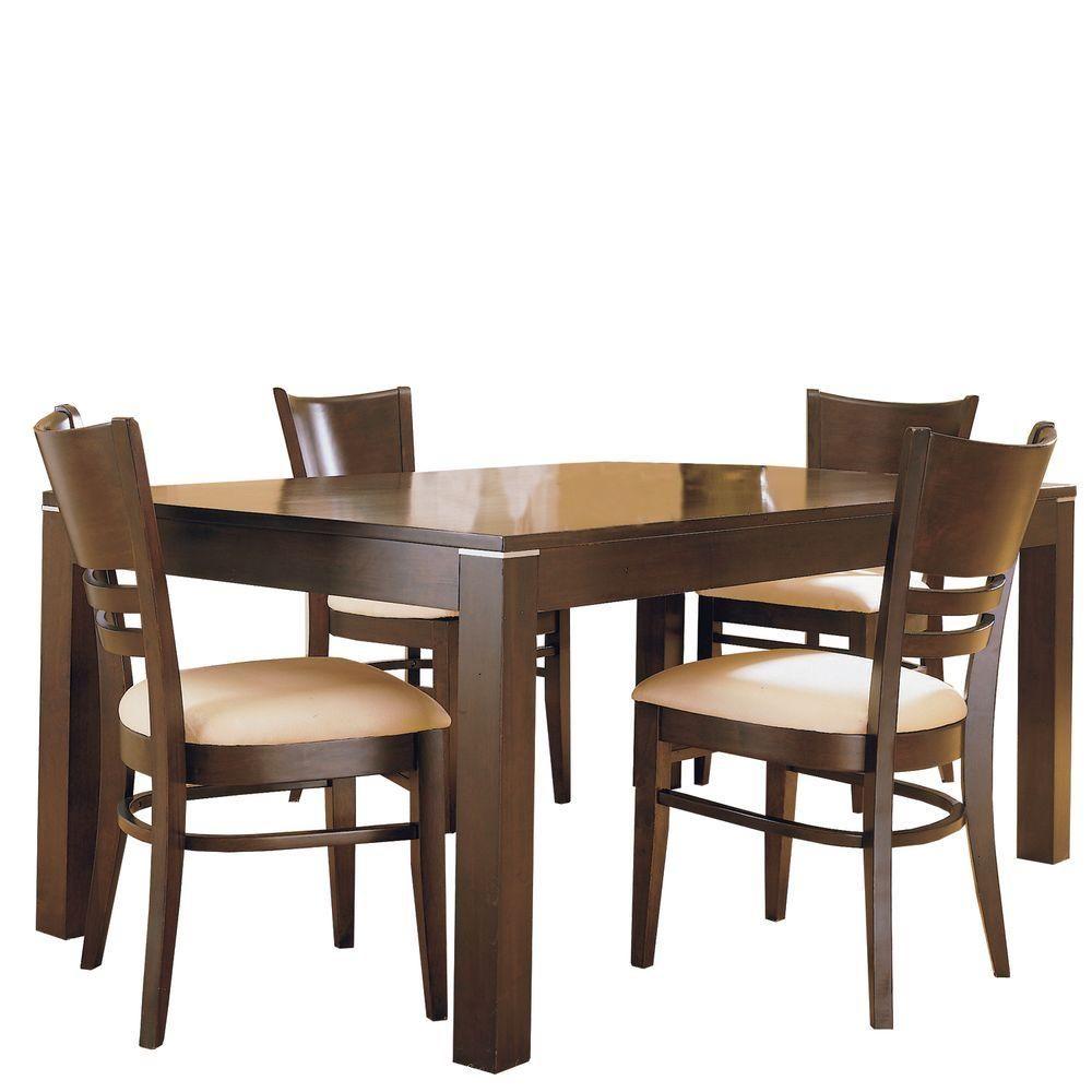 Homesullivan 5Piece Casual Dining Set406285Pc At The Home Amusing Slumberland Dining Room Sets Design Decoration