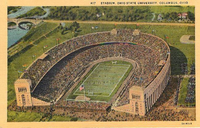 Osu 1930 Or 1940 Ohio State Stadium Ohio Ohio State