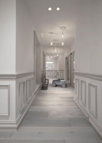 dark hardwood floors living room white paneling design elixir a212 cafe tokyo baby cafe aoyama by nendo