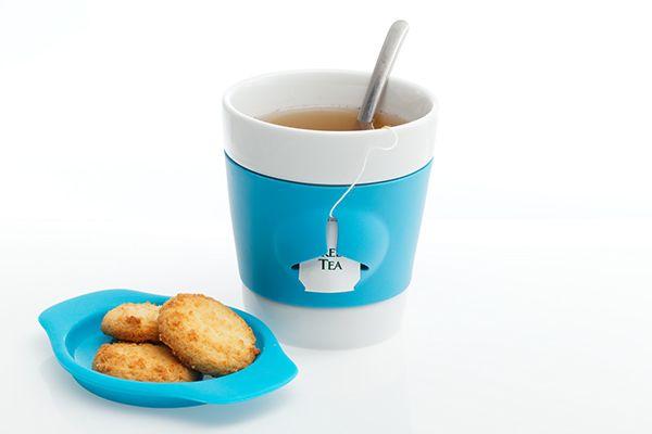 Design or not Design / Cup / Blue / Tea Bag Holder / Kitchen Apliences / at Design Binge