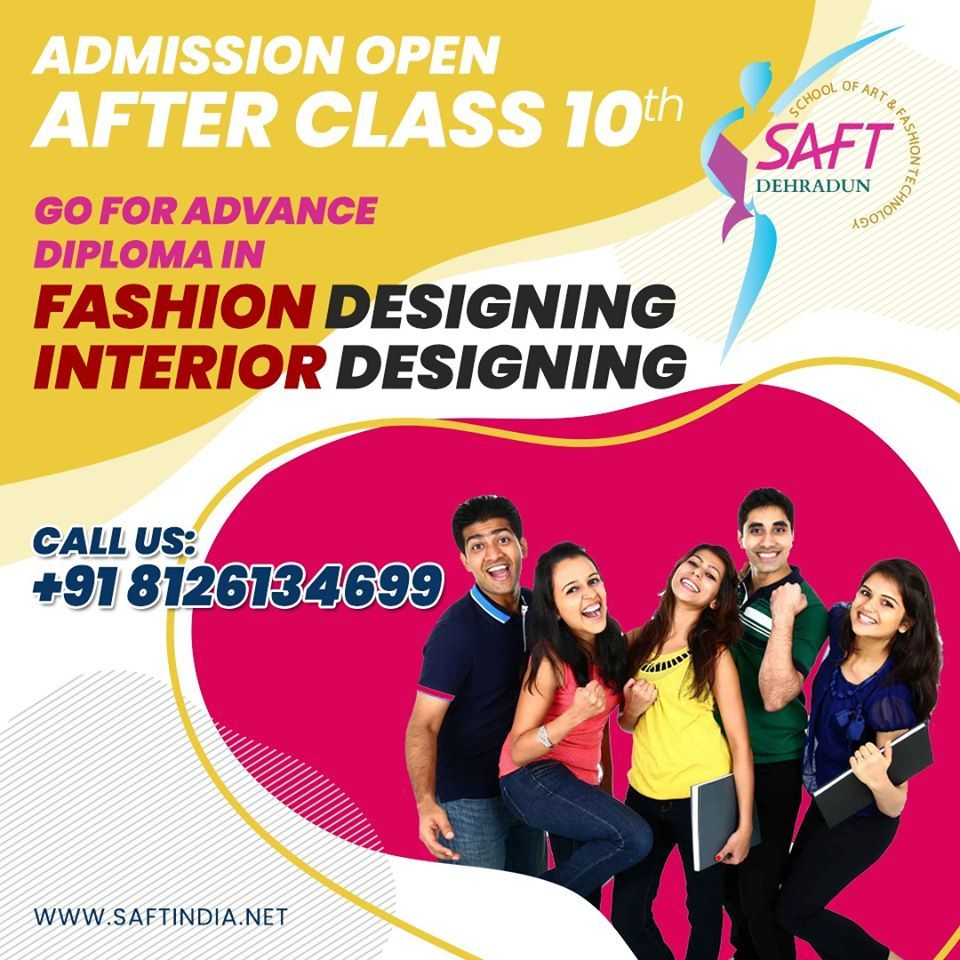 Admission Open 2020 2021 In 2020 Diploma In Fashion Designing Admissions Fashion Design