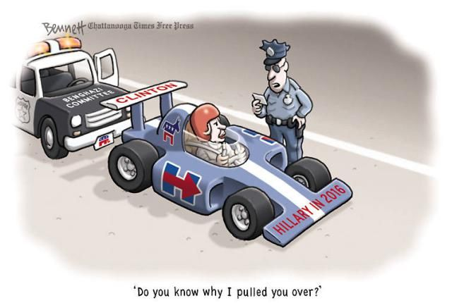 Political Cartoons of the Week: Benghazi Committee vs. Hillary