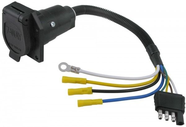 Trailer Wiring Adapter 4 Pin To 7