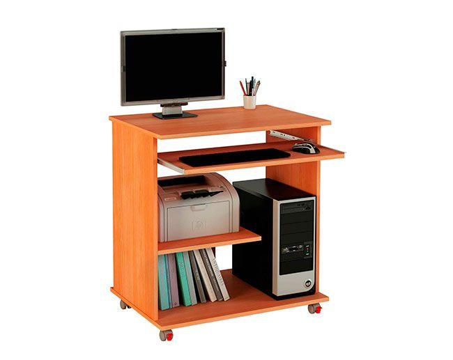 Mesa de ordenador tipo carro multimedia peque a y pr ctica modelo k 1250 de meka block tiene - Mesa ordenador pequena ...