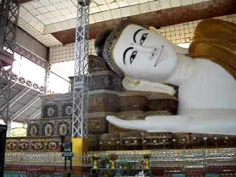 The second largest #reclining #Buddha in the world #Shwethalyaung_Paya #Bago #Myanmar. It is 55 meters long and 16 meters high depicts the Buddha just ... & The second largest #reclining #Buddha in the world ... islam-shia.org