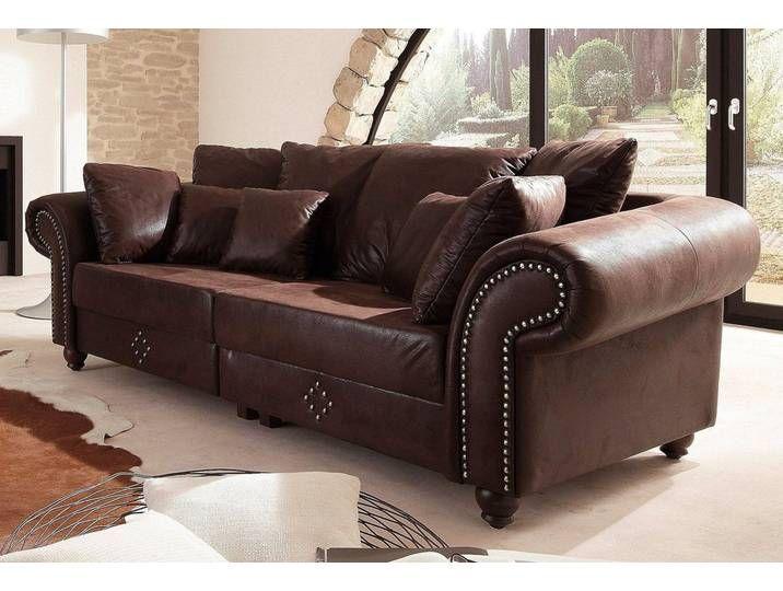Home Affaire Big Sofa King George Braun 242cm In 2020 Sofa