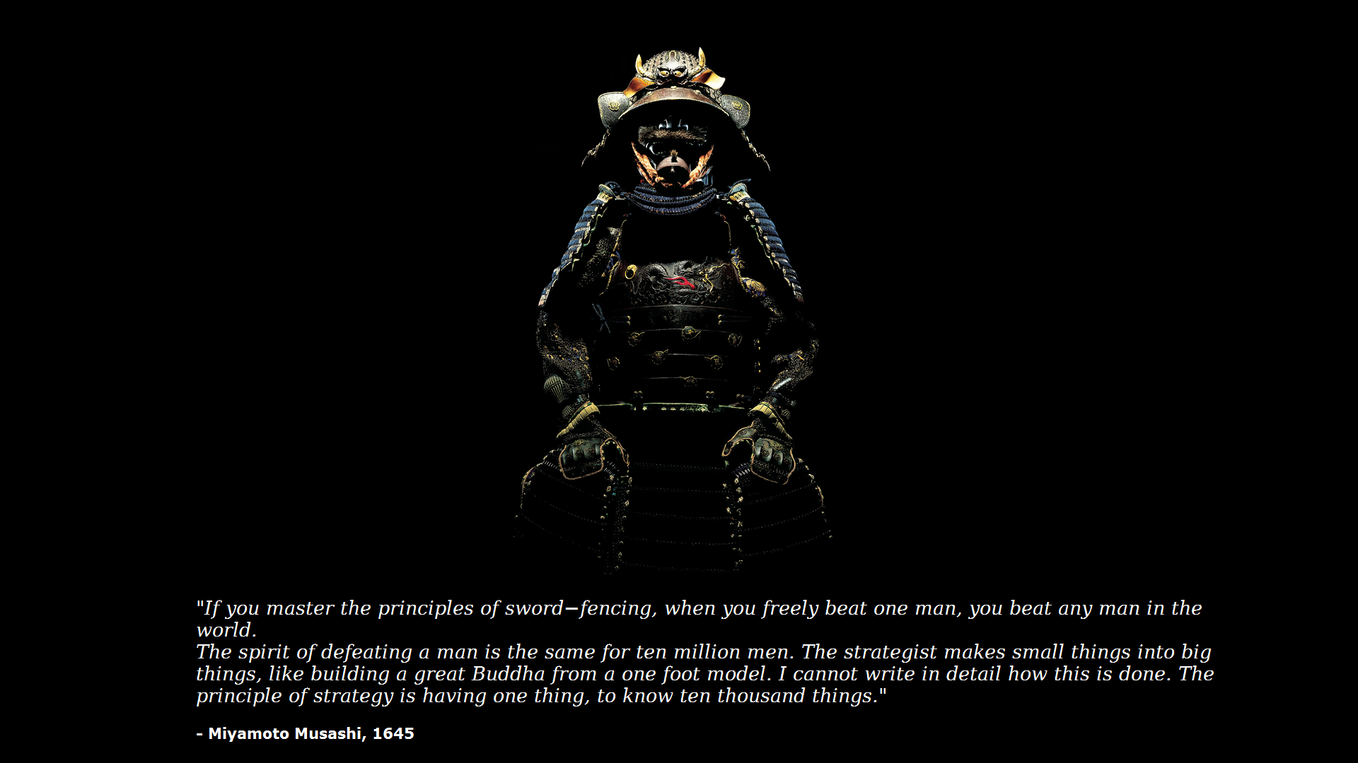 Miyamoto Musashi Quotes Wallpaper Google Search