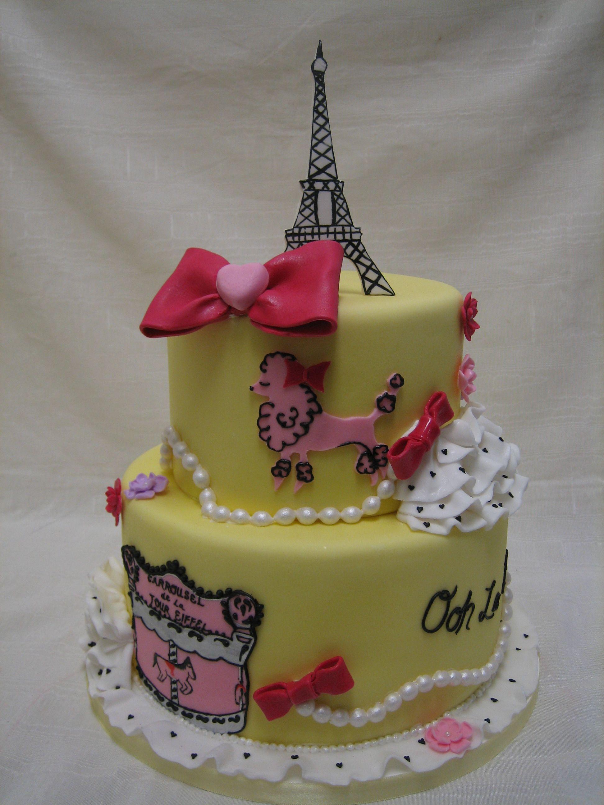Amy beck cake design chicago il parisian pooch