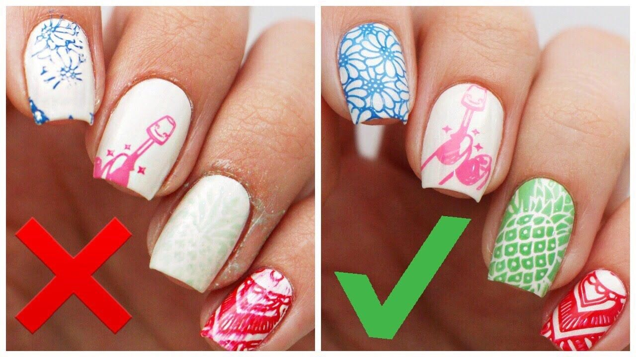 5 Things You\'re Doing WRONG When Stamping Your Nails!   Nails ...