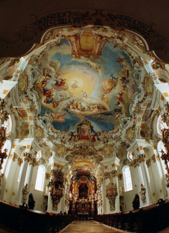 Pfaffenwinkel Wieskirche Pilgrimage Church Trip To Germany