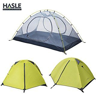 3c1fef8551 HASLE OUTFITTERS Ultralight Backpacking Tent, 2 Person 3 Season Camping  Tents for Hiking Traveling Camping