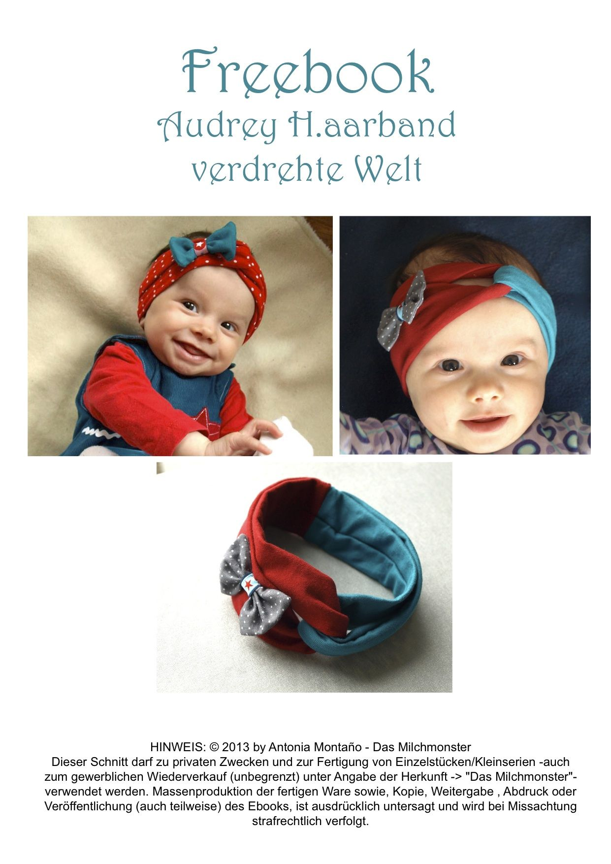 Milchmonster - Freebooks | baba en kinderklere | Pinterest ...